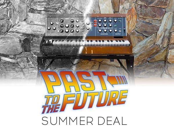 Arturia launch half-price 'Past To The Future' sale
