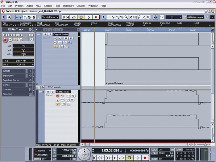 Using Hardware Effects With Your PC Software Studio