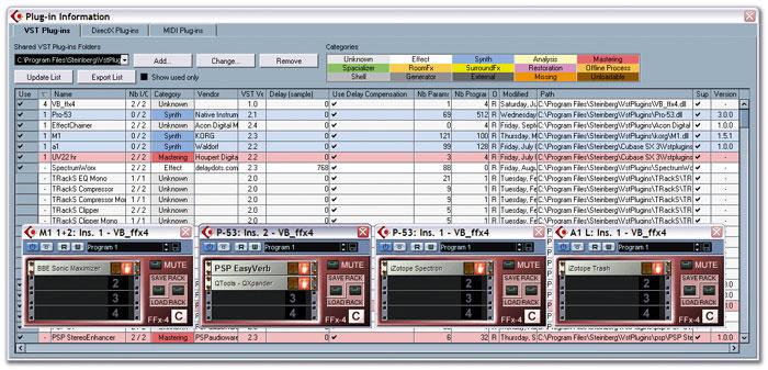 Direct X Plug-ins & Cubase 4