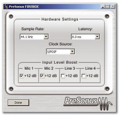 Presonus firebox mac driver download.