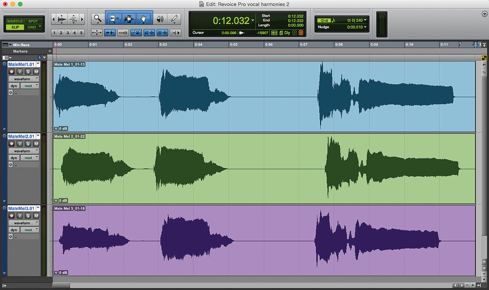 pro tools vocal pitch correction