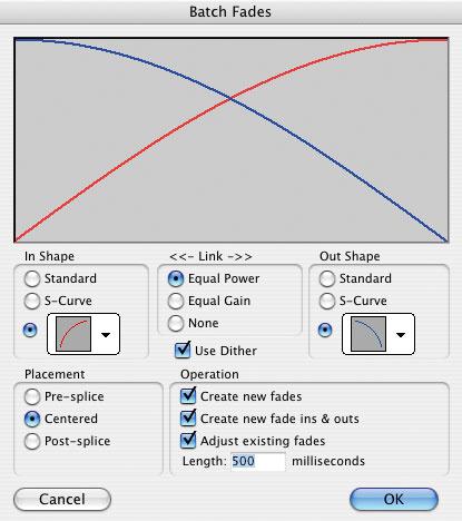 Using Fades & Crossfades