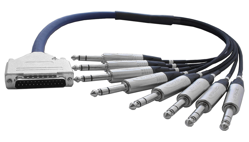 4 Metre 25 PIN DSUB to 25 PIN DSUB Loom DB25 to DB25 Cable Lead Snake PRO