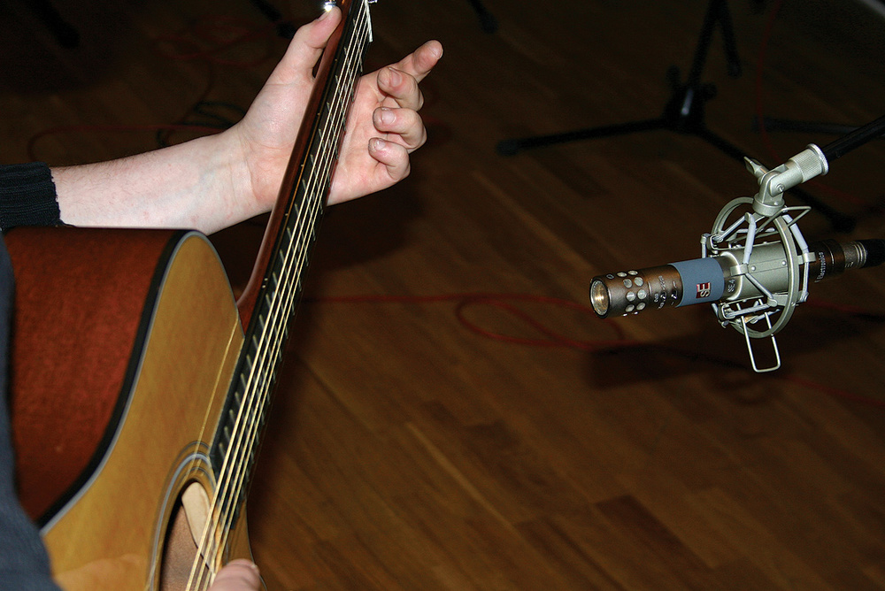 Recording Acoustic Guitar DI, And Making It Sound Good