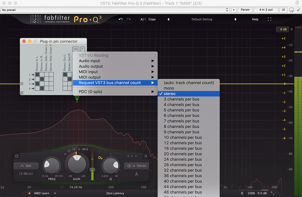 Q  How do I use the match EQ facility in FabFilter Pro-Q