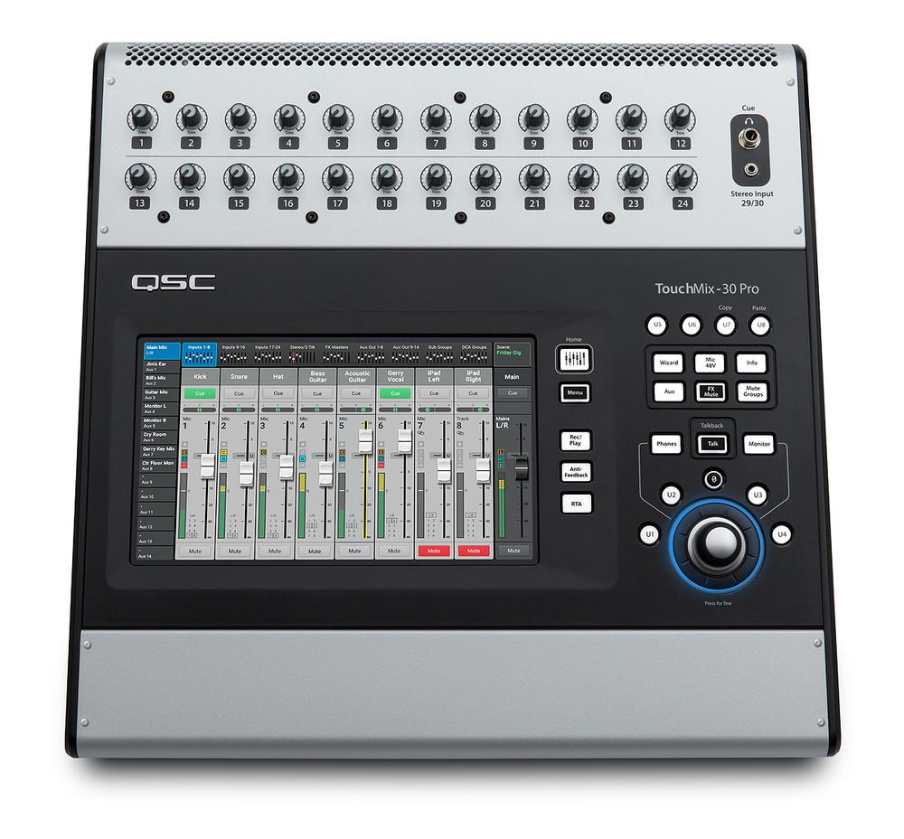 Qsc Touchmix 30 Pro References Guitar Electronics Com Kill Switch Output Mute