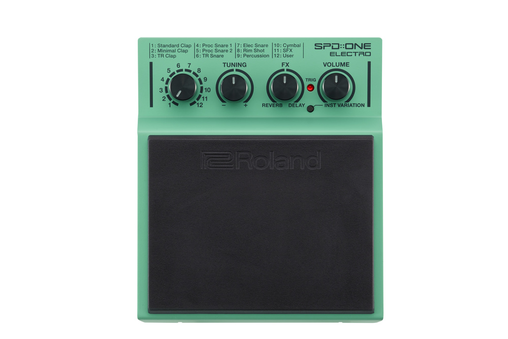 Roland launch SPD::One compact percussion pads
