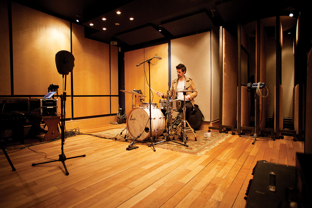 recording drums what difference does the room make. Black Bedroom Furniture Sets. Home Design Ideas