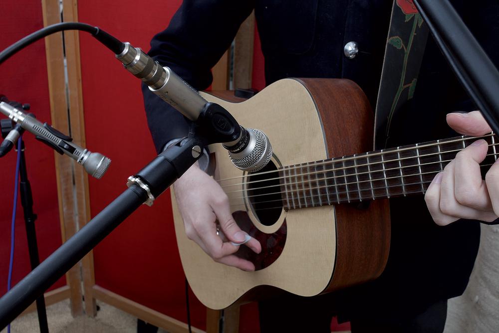 Recording A Singing Guitarist