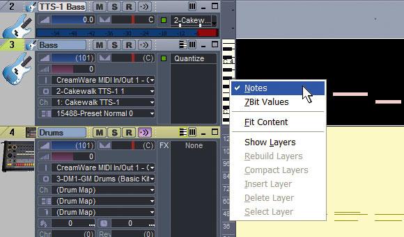 Improved MIDI Functions In Sonar 5