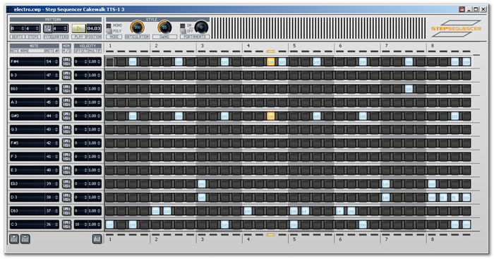 Creating A Rhythm Track In Sonar