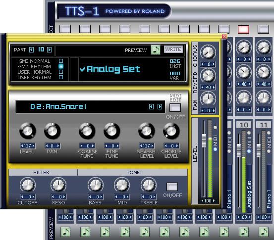 Creating A Rhythm Track In Sonar
