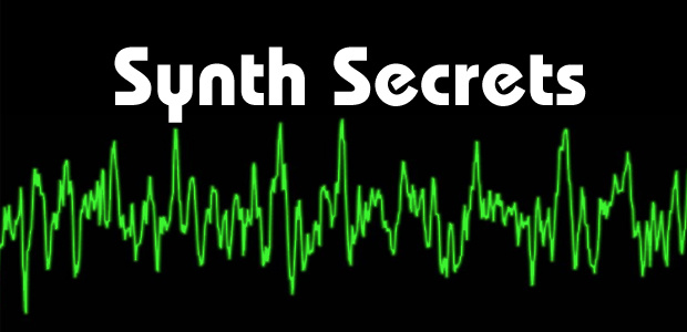 Synth Secrets All 63 Parts On Sound On Sound Site