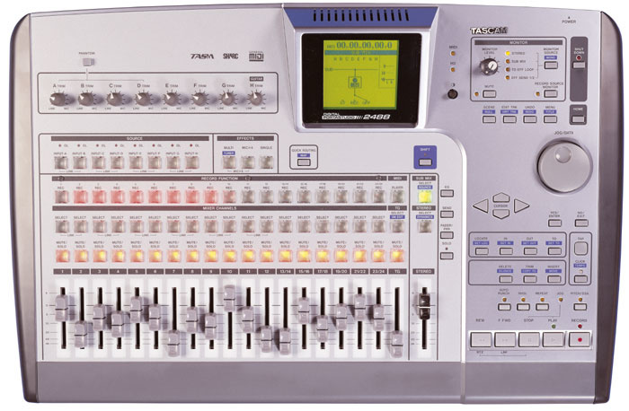 Product: 2488neo | tascam.
