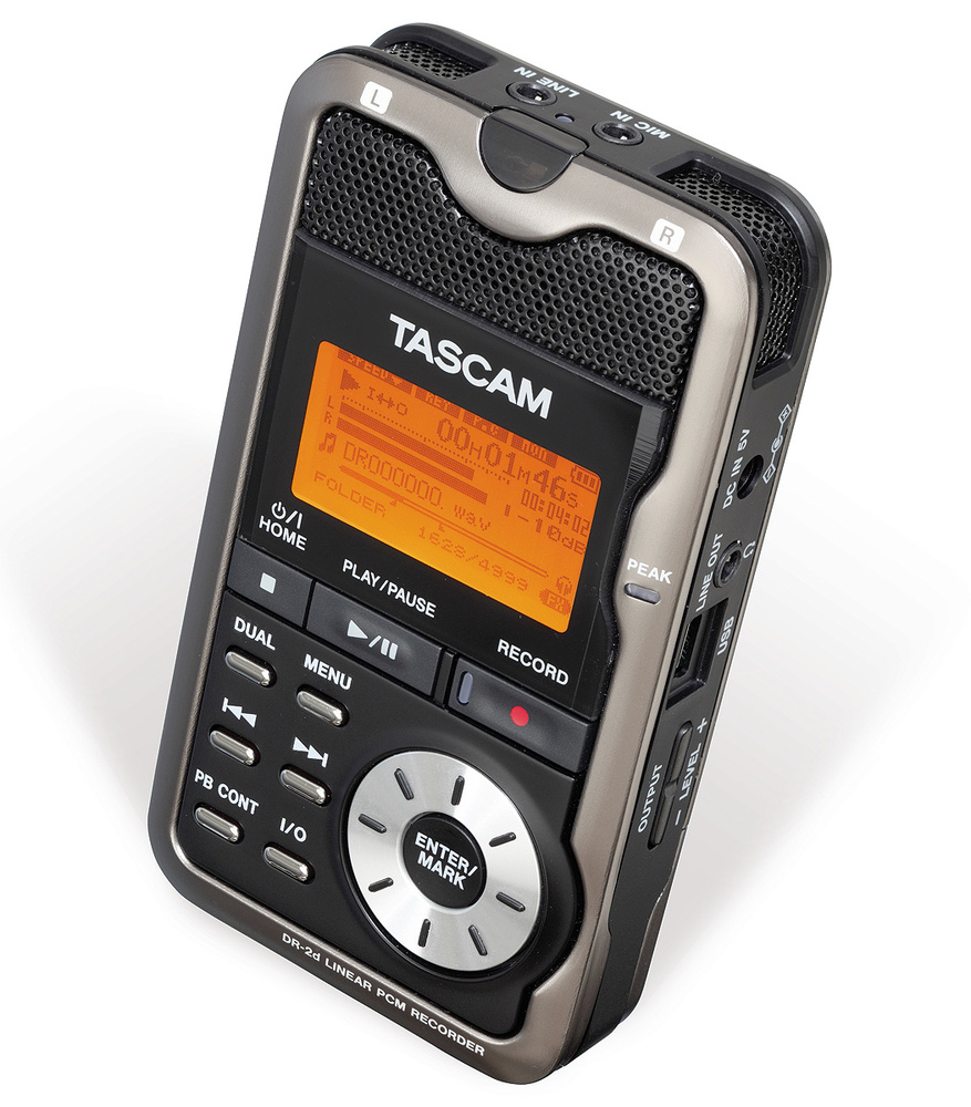 Tascam dr-2d manual portable linear pcm recorder hifi engine.
