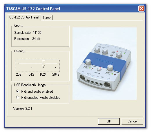 US-122L TASCAM DRIVER FOR WINDOWS MAC