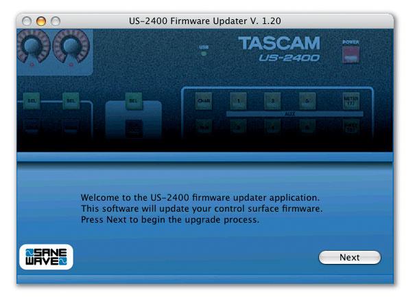 Tascam US2400
