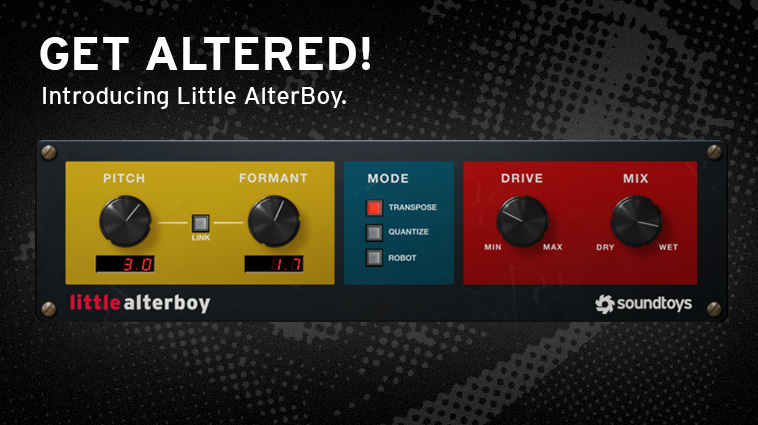 Get Soundtoys Little AlterBoy plug-in for free