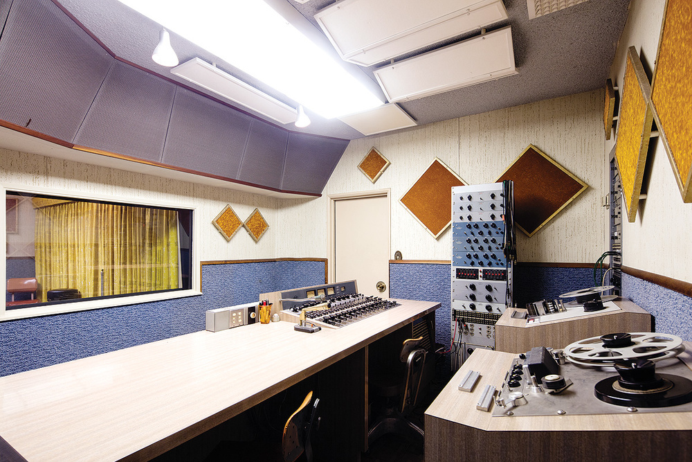 Studio B is based around a Universal Audio 610 console.
