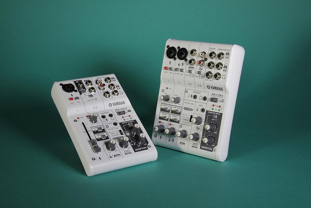 Yamaha AG06 & AG03