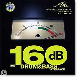 AMG 160dB Drum & Bass sample library.