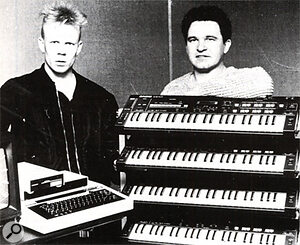 UMI users Vince Clarke and producer Eric Radcliffe.