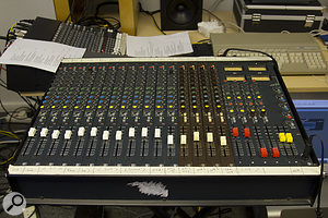 In 1985, you'd have paid a  lot of money for a  16-channel Soundcraft. It doesn't seem so impressive 30 years later, but at least it still works!