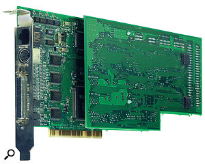 The EDI‑1000 PCI card provides the DSP processing muscle to drive the PARIS system, so a heavy burden is not placed on the host computer.