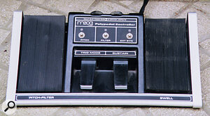 The Polymoog could be equipped with this set of Polypedals.