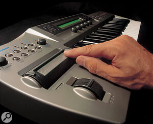 The Korg Prophecy monosynth offers a number of different synthesis methods, including physical modelling.