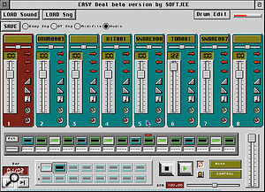 Easy Beat turns your Falcon into a virtual drum machine.