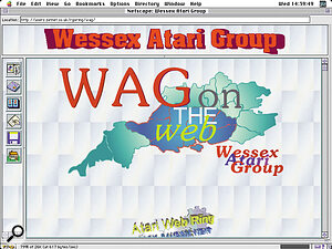 The Wessex Atari Group's home page on the Net (see box below).