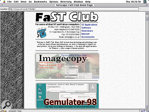 Visit FaST Club on line, home of the Floppyshop Gold collection of CD‑ROMs.