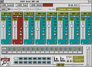 Softjee's Easybeat: get the virtual drum machine treatment for your Falcon.
