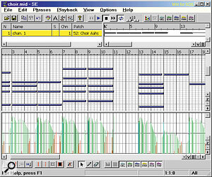 There are fewer ensemble styles supplied than solo ones, but this one (Human Voice 100PS 05A Chords Slow Soft Back‑Vocal) shows how articulation is added using the MIDI expression controller.