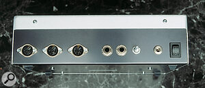 As well as the three oscillators on the SID chip itself, the SidStation offers the ability to route external audio through its multimode filter.