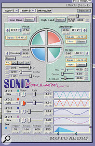 New to the pack is the Sonic Modulator.