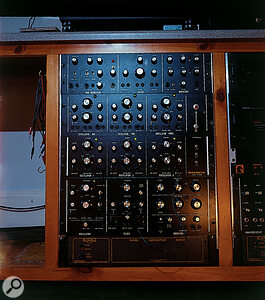 Some of Ken McBeth's synthesizer designs.