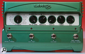 The DL4 Delay Modeler not only models classic delay‑based effects but includes a loop sampler.