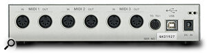 Unlike some USB devices, which draw their power from the USB lead, the UX256 requires an external PSU.