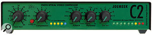 The Joemeek units use opto‑compression to create their distinctive '60s sound — the gain‑control element is well‑known for its non‑linear performance.
