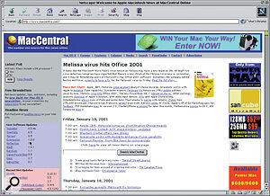 MacCentral: an online Apple news broadsheet.