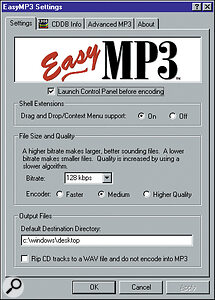 EasyMP3 is distinctive in the way it integrates with Windows, and provides most of the features you will need in an MP3 encoder.