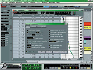 As you can see here, Cubase 5.0 now maintains an internal timing accuracy of 15360 fractions per quarter note, but the final timing for synths is still subject to the 1mS‑per‑note MIDI resolution.