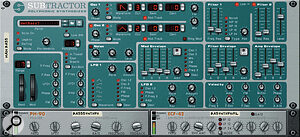 The Subtractor synth benefits from a comprehensive spec and logical 'front panel'.