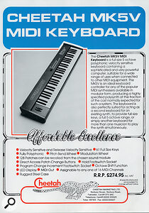 The MK5 and its relatives, such as the MK5V pictured below, made buying a controller keyboard a realistic proposition even for musicians on a budget.