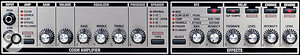 The VGA7's new hands‑on interface, greatly simplifies the setting up of new sounds and the tweaking of presets.