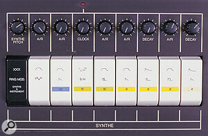 The oddly named 'Synthe' section is the Sigma's nod in the direction of real sound synthesis.