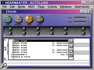 Emagic's HearMaster is simple and affordable; generally it's one of the better packages you can buy.