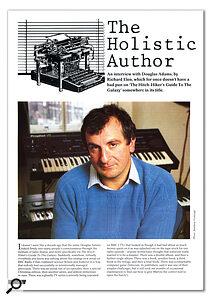 SOS interviewed Douglas Adams in his home studio, way back in July 1987.